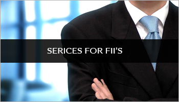 Services For FII'S