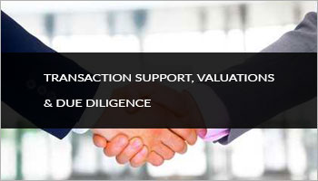 Transaction support, Valuations, Due Diligence